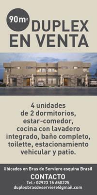 Duplex en venta
