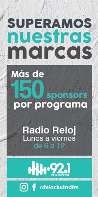 Radio Reloj - 150 Auspiciantes