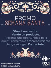 Promo Semana Santa!