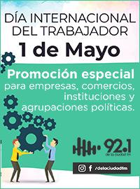 Promo Día del Trabajador