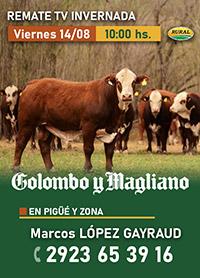Marcos López Gayraud Remate