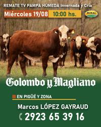 Marcos López Gayraud Remate 2