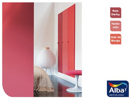 pinturera schwab promociona la gama de colores para pinturas de paredes y placards